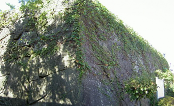 Remnants of Koga-machi-guchi Wall